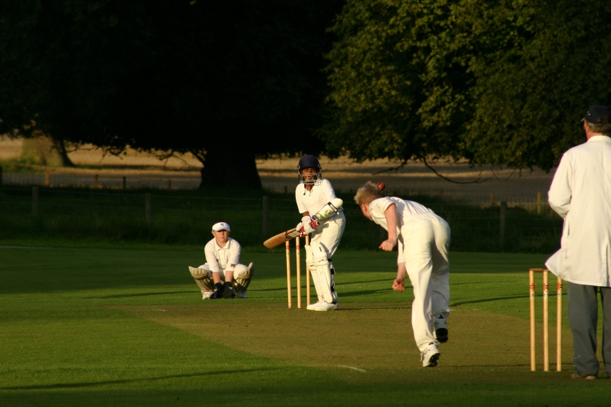 Cricket at Rossie Priory, Inchture ~ Scotland 2004