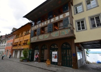 The picturesque venue of the ART EXHIBITION in Zug, Switzerland